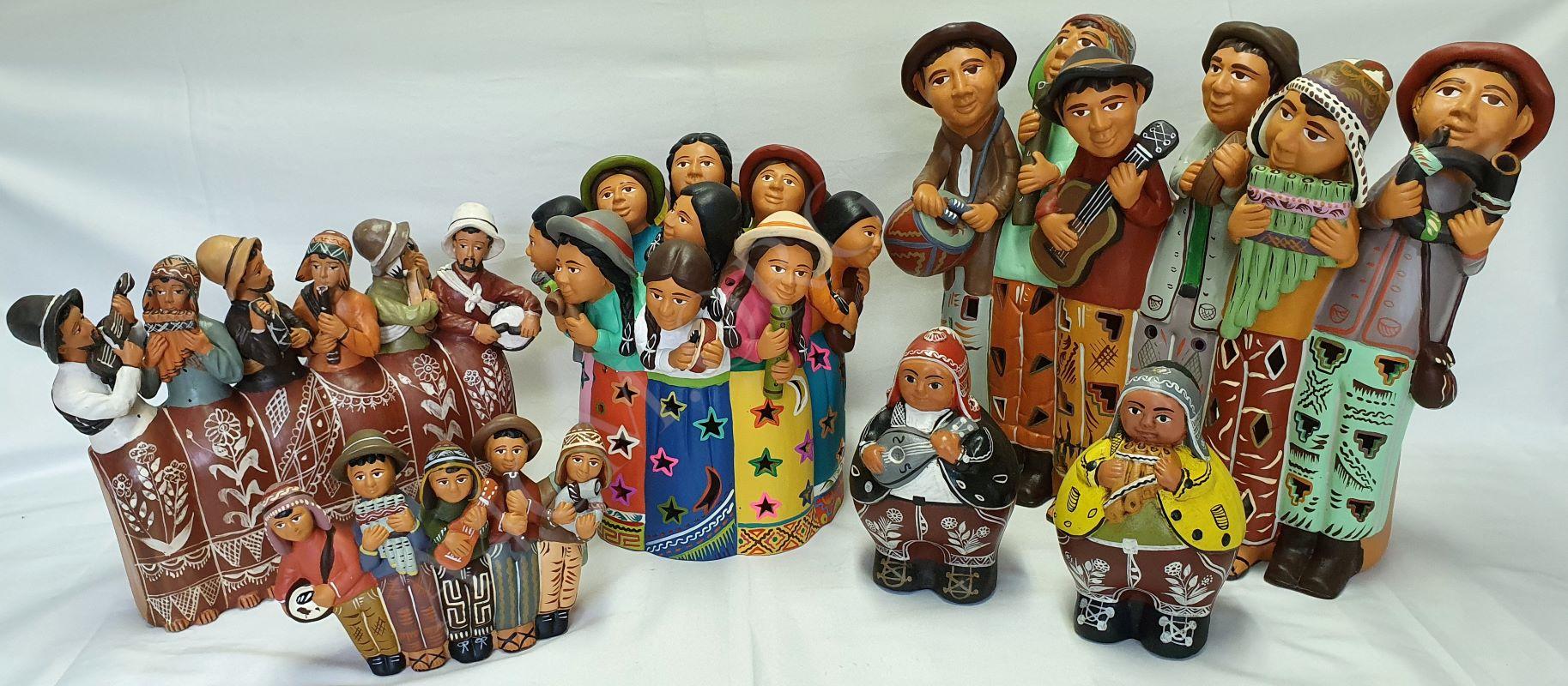 Sélection de Musiciens en Céramique